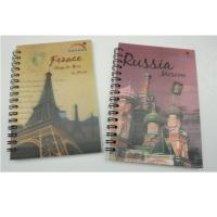 Buy cheap PET Material Lenticular Notebook from wholesalers