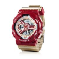 Buy cheap Digital Watch with Stainless Steel Case Back, 5ATM Water Resistant Quartz Chronograph Watch,Digital Sport Watches from wholesalers