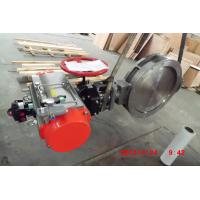 Buy cheap Pneumatic Electric Actuated Butterfly Valve for Standard Industrial Process Lines from wholesalers