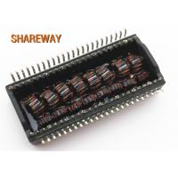 Buy cheap Thru - Hole Ethernet Lan Transformer Common Mode Chokes For EMI Suppression product