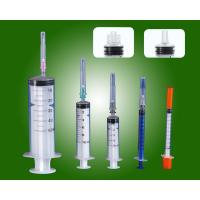 Buy cheap Three Part Medical Disposable Syringe with CE ISO for single use from wholesalers