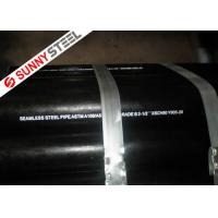 China ASTM A106 Grade B Carbon Steel Seamless Pipes on sale