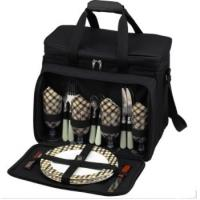 Buy cheap 600D Polyester picnic bag 4 person from wholesalers