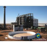 Buy cheap Glass Fused Steel Wastewater Storage Tanks High Resistance To Corrosive Attack And Abrasion from wholesalers