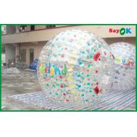 Buy cheap Customized Giant Inflatable Zorbing Ball For Inflatable Sports Games from wholesalers