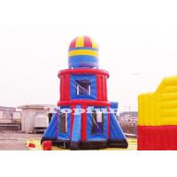 Buy cheap Customize 10m Tall Rocket Inflatable Jumping Castle Bouncer Tower Outdoor Play from wholesalers