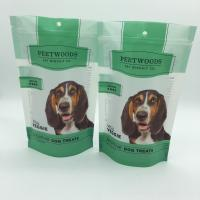 Buy cheap Stand up zipper pet food pouch , food organiser bag , food bag printing from wholesalers
