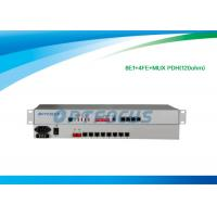 Buy cheap 19 inch 1U 8 E1 PDH Multiplexer 120ohm Full Duplex Auto - Negotiation from wholesalers