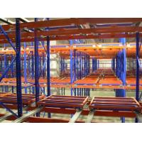 Buy cheap Nanjing push back racking,push back racking for sale,push back racking for fabric from wholesalers