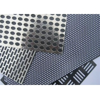 Buy cheap 1mm Hole  Hexagonal Sheet Aluminum Perforated Metal Mesh Speaker Grille Sheet from wholesalers