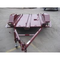 Buy cheap 6x4 Tandem Flatbed Trailer For Two Motor Bike Transport Australian Style from wholesalers