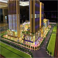 Buy cheap The fashion design business center architectural model with lighting from wholesalers