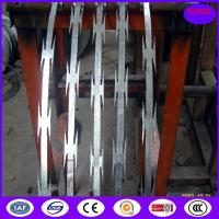 Buy cheap high tensile galvanized sharp razor barbed wire for security fence from wholesalers