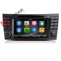 Buy cheap Auto Radio Double Din Gps Car Stereo , Mercedes E Class Dvd Player Built In SD from wholesalers