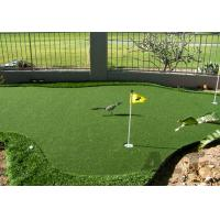 Buy cheap Comfortable Indoor Golf Putting Green , PE Curly Monofilament Synthetic Golf Greens from wholesalers