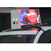 Buy cheap 6500nit Digital  Led Car Message Sign , Full Color Led Sign Low Power Consumption from wholesalers