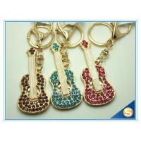 Buy cheap Custom Musical Keychains Guitar Shape Keychain New fashion gift metal cute keychain from wholesalers