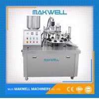 Buy cheap SEMI-AUTOMATIC PLASTIC TUBE FILLING SEALING MACHINE from wholesalers