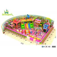 Buy cheap Preschool Candy Themed Playground Equipment Trampoline Park For 3 - 15 Years Old from wholesalers