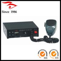 Buy cheap siren police 100w siren and speaker from wholesalers