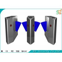 Buy cheap Retractable RFID Card Reader Flap Barrier Gate Alarm Flap Barrier from wholesalers