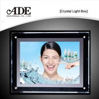 Buy cheap Single side crystal light box from wholesalers