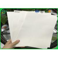 Buy cheap Good Absorbency Uncoated Woodfree Paper / 0.3mm - 3.0mm Absorbent Paper With 100% Wood Pulp from wholesalers