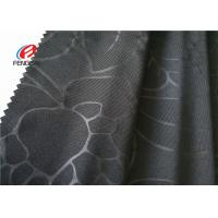 Buy cheap Embossed Customized Design Soft Knit Fabric 90% Polyester 10% Spandex Material from wholesalers