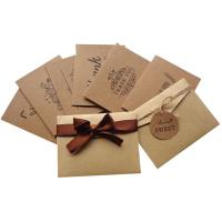 Buy cheap Finer Packaging Custom Card Printing Kraft Paper Materials Gifts Cards from wholesalers