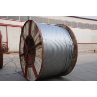Buy cheap High Carbon Aluminium Clad Steel Wire Single Acsr Lightning Protection Wire For Optical Fiber Composite Overhead from wholesalers