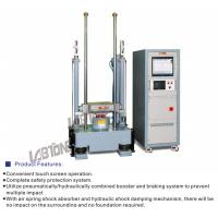 Buy cheap Mechanical Shock Test Equipment  With 50kg payload Performs Half sine 100g 11ms from wholesalers