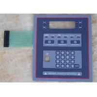 China Rubber Membrane Switch Panel Sticker on sale