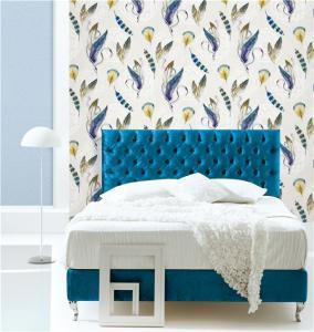 Buy cheap Top quality waterproof mould proof beautiful design PVC vinyl wallpaper product