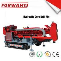 Buy cheap 147 KW C5 Diamond Full Hydraulic Surface Core Drilling Rig Crawler Mounted from wholesalers
