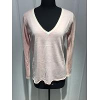 Buy cheap Long Sleeve Deep V Neck Cashmere Sweater For Adults 2/60 Yarn Count from wholesalers