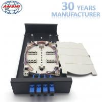 Buy cheap Metal Optical Fiber Distribution Box / Wall Mount Enclosure Easy Installations from wholesalers