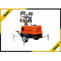 Buy cheap 4 Pivot Legs Light Tower Generator Double Wall Sub - Fueltank , Construction Light Towers Tail Light Kit from wholesalers