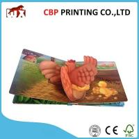 Buy cheap Coloring Casebound Children Story Books Printing Pop Up Reading Books For Kids from wholesalers