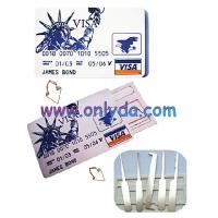 Buy cheap lockpick ,Bank visa card machine and door lock pick tool from wholesalers