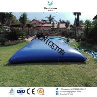 Buy cheap Portable reusable pillow shape PVC flexible water Storage tank for agriculture High-frequency heat sealing storage tank from wholesalers