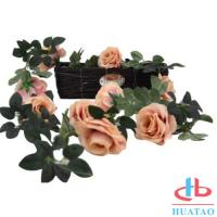 China Decoration Handmade Silk Flowers Artificial Rose Wedding Real Touch on sale