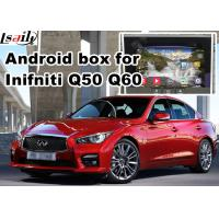 Buy cheap Navigation Video Interface for 2015-2016 Infiniti Q50 Q60 Andorid services, online navigation video play from wholesalers