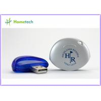 Buy cheap Company Gift USB Flash Drive , Plastic USB Memory with Logo ,Cheap 512MB Pen Drive Blue Color from wholesalers