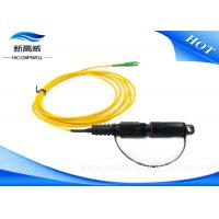 Buy cheap H Connector SC APC Fiber Optic Patch Cables Outdoor Communication High Return Loss from wholesalers