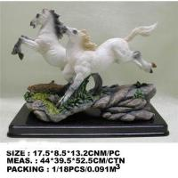 Buy cheap Resin horse statue;horse figurine;horse crafts from wholesalers