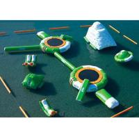 Buy cheap Combined Design Inflatable Water Park Lead Free Safe For Kids Playing from wholesalers