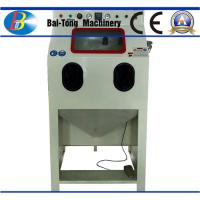 Buy cheap Iron Steel / Plastic Products Industrial Sandblast Cabinet 200kg Net Weight from wholesalers