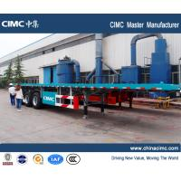 Buy cheap CIMC new 13m high bed trailers from wholesalers