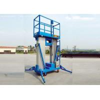 Buy cheap Portable Double Mast Hydraulic Scissor Lift Platform For Loading Cargo / Material from wholesalers