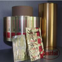 Buy cheap Aluminum coated foil pharmacy pills packaging foil from wholesalers